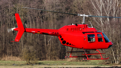 D-HGAR - Agusta-Bell AB-206B JetRanger III - Rotor & Wings
