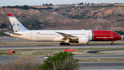 LN-LNX - Boeing 787-9 Dreamliner - Norwegian