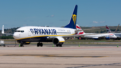A picture of EIEME - Boeing 7378AS - Ryanair - © Enrique Rubira