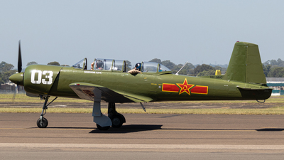 VH-NNC - Nanchang CJ-6A - Private