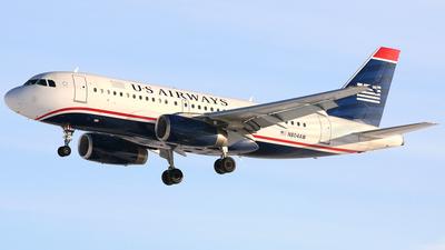 N804AW - Airbus A319-132 - US Airways