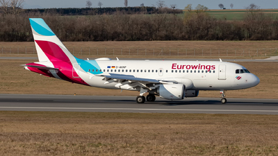 A picture of DAKNP - Airbus A319112 - Eurowings - © Hanjo Schrenk