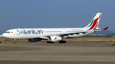4R-ALO - Airbus A330-343 - SriLankan Airlines