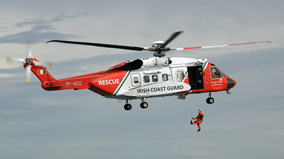 EI-ICU - Sikorsky S-92A Helibus - Ireland - Coast Guard
