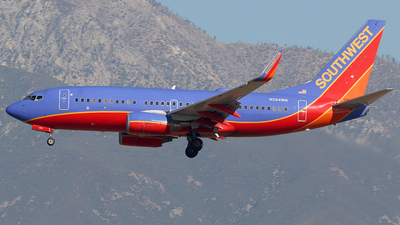 A picture of N294WN - Boeing 7377H4 - Southwest Airlines - © AviaStar Photography