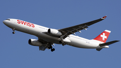 HB-JHC - Airbus A330-343 - Swiss