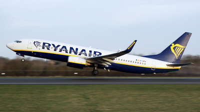 A picture of EIDPD - Boeing 7378AS - Ryanair - © DarrenWilson