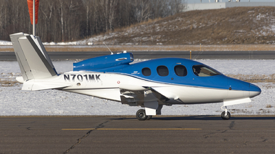 N701MK - Cirrus Vision SF50 G2 - Private