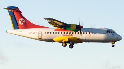 A picture of OYJRY - ATR 42300 - DAT - © Fryderyk Kastelnik/ Fred Aviation