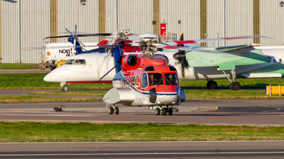 G-WNSG - Sikorsky S-92A Helibus - CHC Scotia Helicopters