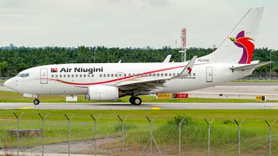A picture of P2PXD - Boeing 7377L9 - Air Niugini - © syafiqkuzairy