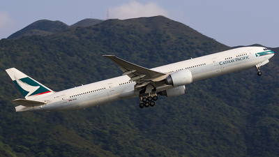 B-KQJ - Boeing 777-367ER - Cathay Pacific Airways