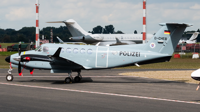 D-CHEB - Beechcraft B200GT Super King Air - Germany - Police