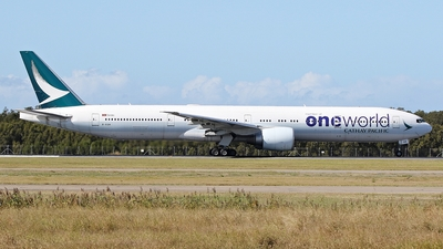 A picture of BKQN - Boeing 777367(ER) - Cathay Pacific - © James Saunders