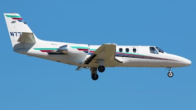 N777AX - Cessna S550 Citation SII - Private