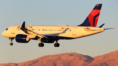 N109DU - Airbus A220-171 - Delta Air Lines