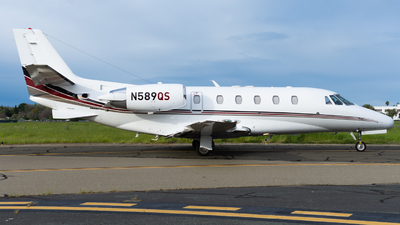 A picture of N589QS - Cessna 560XLS Citation Excel - NetJets - © Taylor Kim