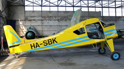 HA-SBK - PZL-Okecie 101A Gawron - Private