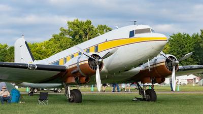 N734H - Douglas DC-3 - Private