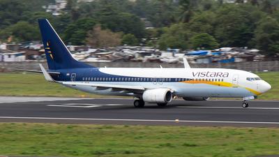 VT-TGD - Boeing 737-8AL - Vistara