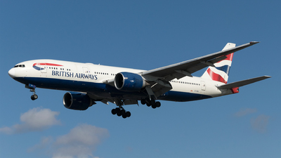 A picture of GVIIA - Boeing 777236(ER) - British Airways - © Daniel Riederer