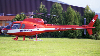 HB-XJW - Aérospatiale AS 350B Ecureuil - Heliswiss