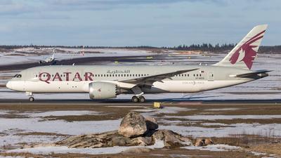A picture of A7BCG - Boeing 7878 Dreamliner - Qatar Airways - © Mikko Heiskanen