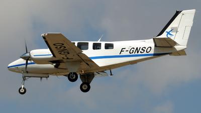 A picture of FGNSO - Beech 58 Baron - ENAC Ecole Aviation Civile - © Rafael Alvarez Cacho