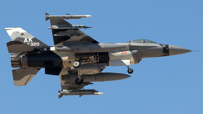 86-0320 - General Dynamics F-16C Fighting Falcon - United States - US Air Force (USAF)