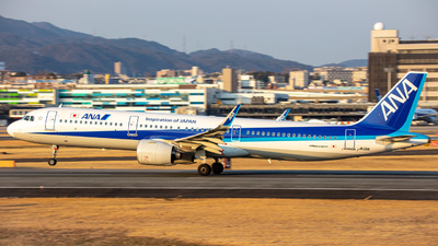 JA131A - Airbus A321-272N - All Nippon Airways (ANA)
