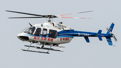 B-7486 - Bell 407 - Sichuan Tuofeng General Avation