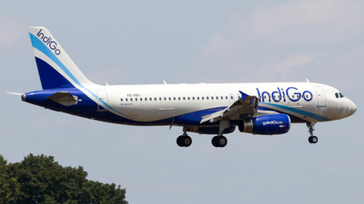 V8-RBV - Airbus A320-232 - IndiGo Airlines