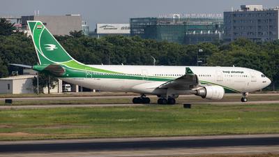 YI-AQY - Airbus A330-202 - Iraqi Airways