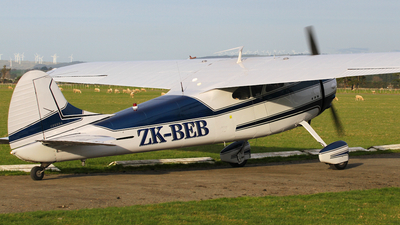 A picture of ZKBEB - Cessna 195 - [7410] - © J. Williams