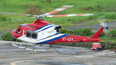 VT-GVT - Bell 412EP - Global Vectra Helicorp
