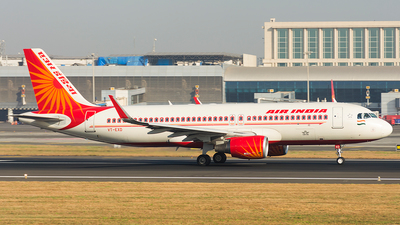 VT-EXD - Airbus A320-214 - Air India