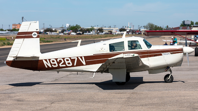 N9287V - Mooney M20C - Private
