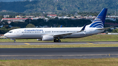 A picture of HP1857CMP - Boeing 7378V3 - Copa Airlines - © Cristian Quijano