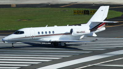 N640QS - Cessna Citation Latitude - NetJets Aviation