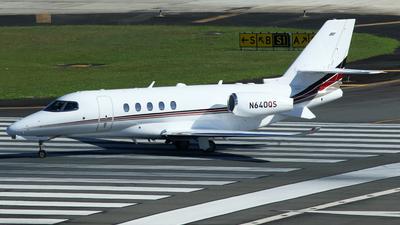 A picture of N640QS - Cessna 680A Citation Latitude - NetJets - © Carlos Vaz