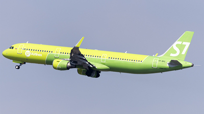 A picture of VPBPC - Airbus A321211 - S7 Airlines - © Faustasyan