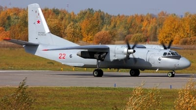 RF-47324 - Antonov An-26 - Russia - Air Force