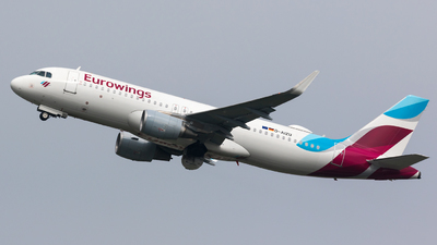 D-AIZU - Airbus A320-214 - Eurowings