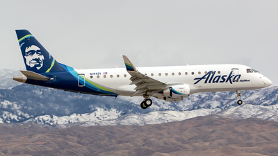N194SY - Embraer 170-200LR - Alaska Airlines (Skywest Airlines)