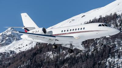 A picture of CSDLJ - Dassault Falcon 2000EX - NetJets - © Thierry Weber