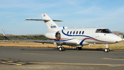 N89WA - Hawker Beechcraft 800XP - Private