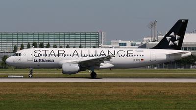 D-AIPC - Airbus A320-211 - Lufthansa