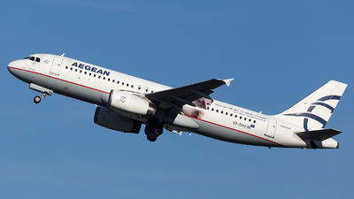 A picture of SXDVU - Airbus A320232 - Aegean Airlines - © Oksana