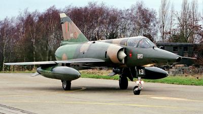 BR-13 - Dassault Mirage 5BR - Belgium - Air Force
