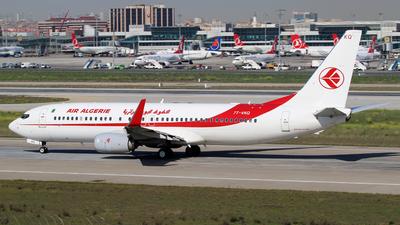 7T-VKQ - Boeing 737-8D6 - Air Algérie